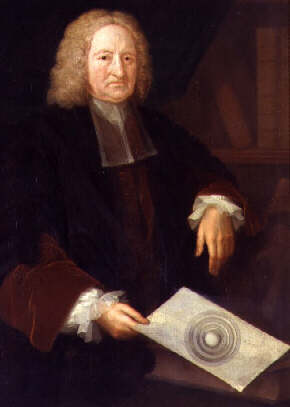 Edmund Halley, Bristish astronomer in 1654 proposed earth is hollow to account for the earth's magnetic field